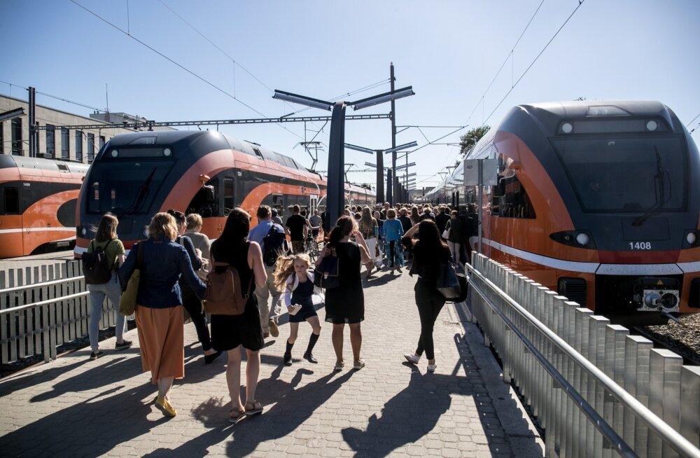 Жители Эстонии и иностранные туристы все чаще выбирают поезда для путешествий по стране