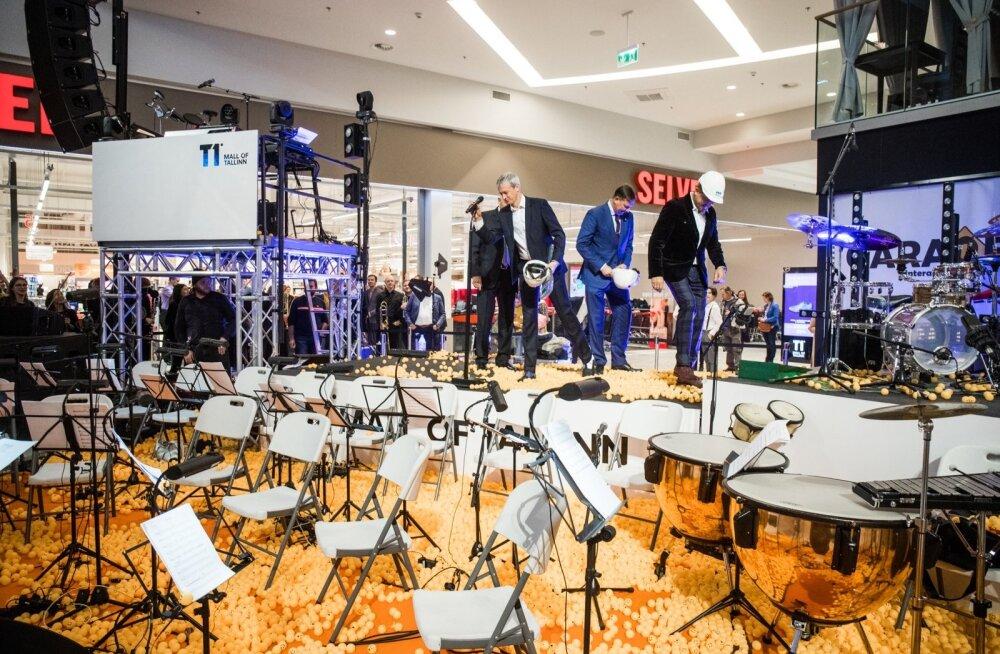T1 Tallinn Mall avamine