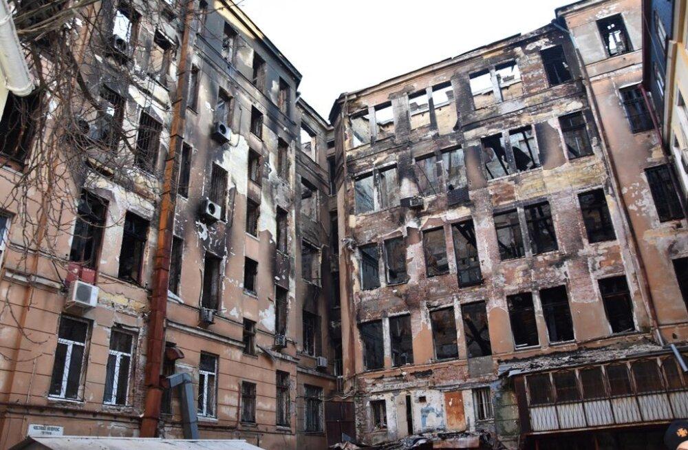 Odessa kolledži tulekahju järel on leitud kaks hukkunut, 13 inimest on kadunud