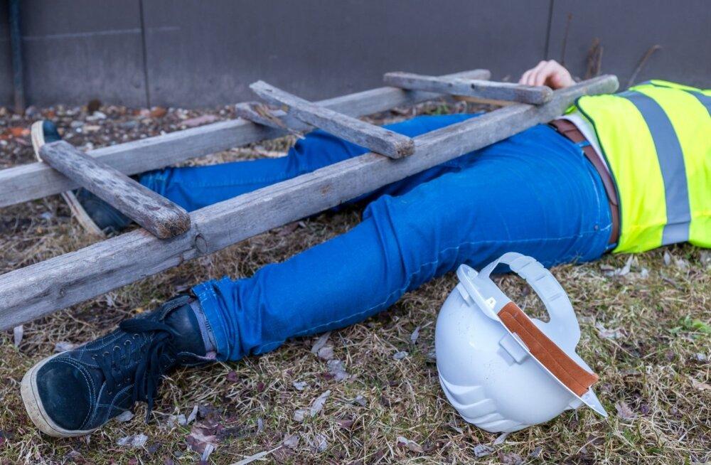 Eelmisel aastal juhtus Eestis 5184 tööõnnetust, millest 9 lõppes töötajale fataalselt.