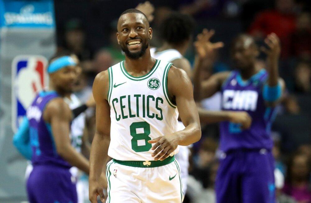 VIDEO | Charlotte'i publik muutis Walkeri emotsionaalseks, kuid Celtics Hornetsile armu ei andnud