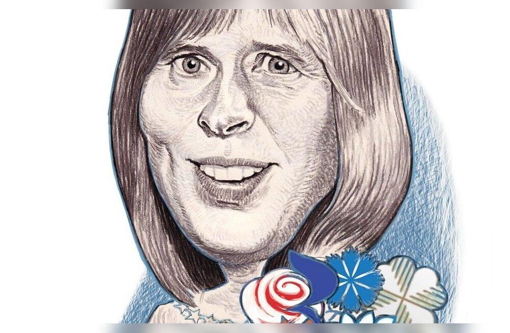 10 малоизвестных фактов о президенте Эстонии Керсти Кальюлайд