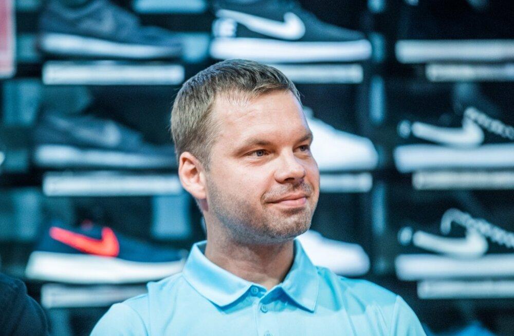 Tallinna Kalev/TLÜ peatreener Raido Roos