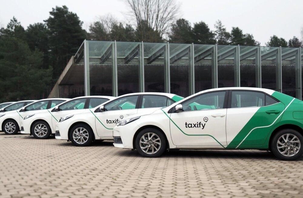Taxify autod Narvas