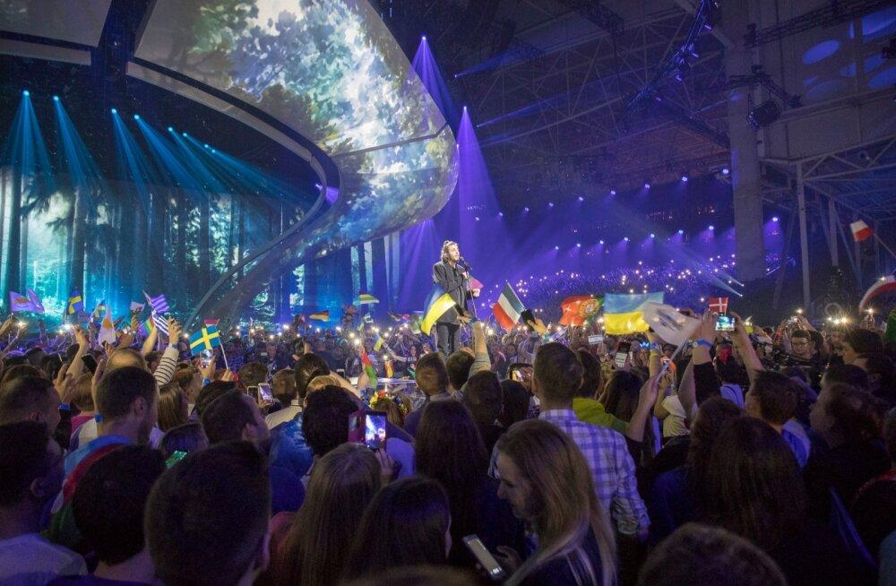 Eurovision 2017 võitja Salvador Sobral.