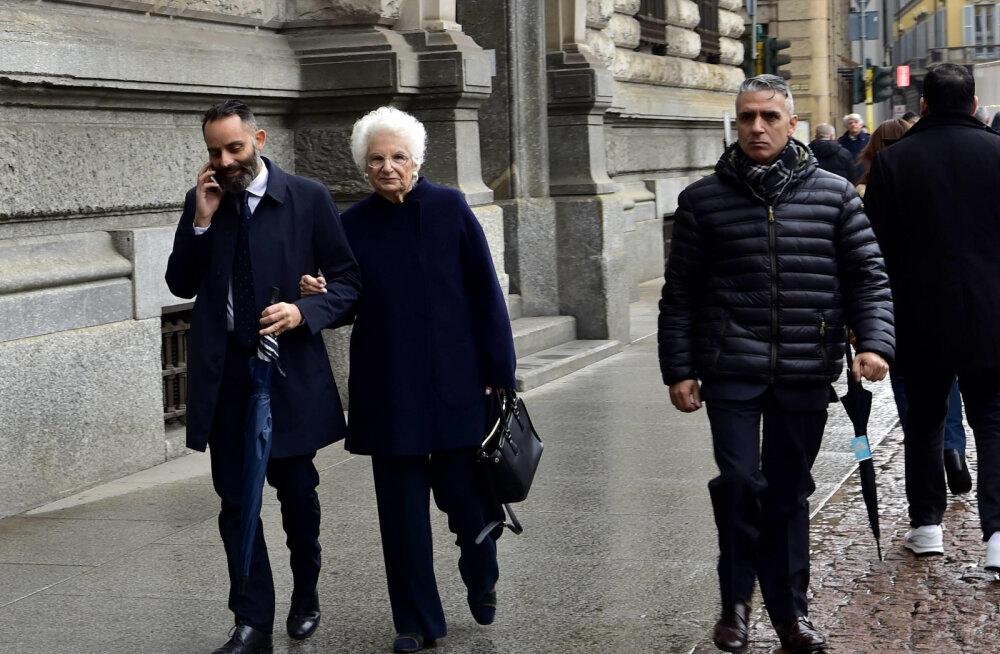 Itaalia holokausti üle elanud senaator võeti tapmisähvarduste pärast politsei kaitse alla