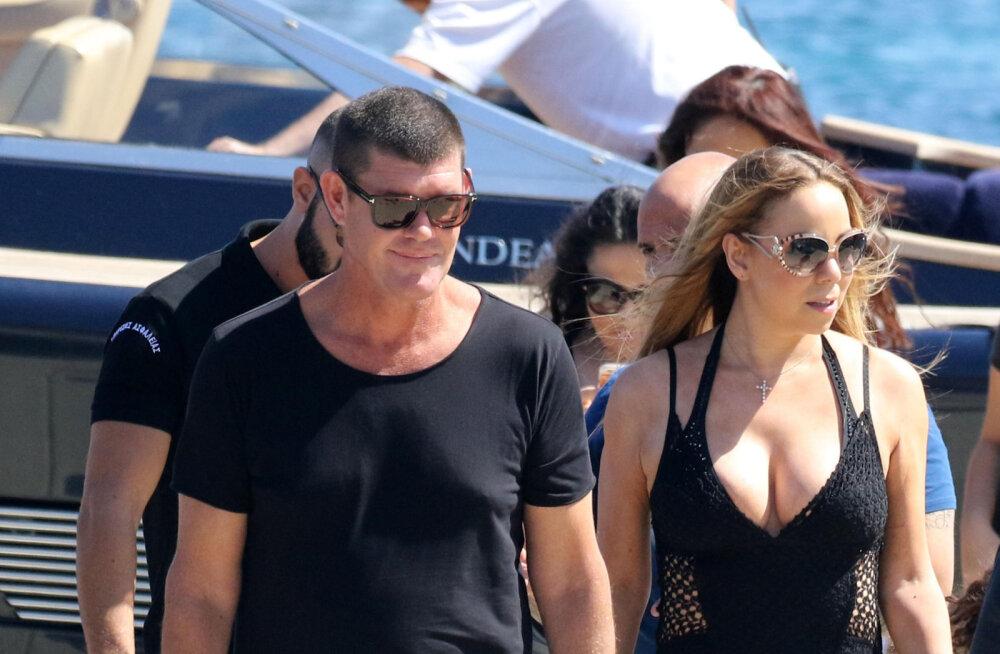 VIDEO: Popstaari suhte purustas peigmehe pöörane armukadedus? VAATA, kuidas Mariah Carey oma kuuma taustatantsija süles aeles