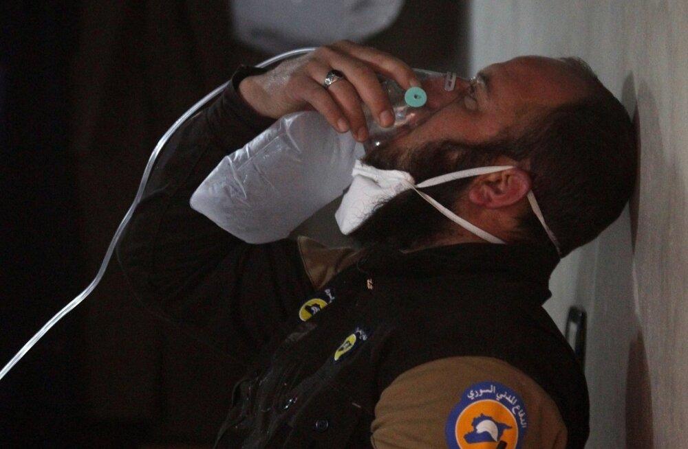 Türgi: lahkamine näitab, et Süüria rünnakus kasutati keemiarelvi
