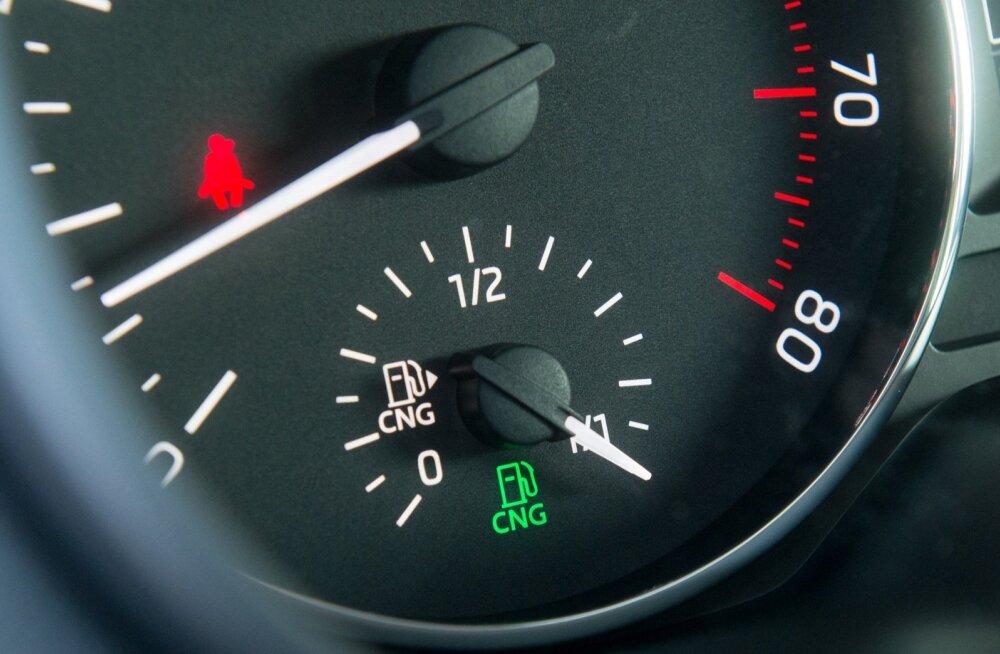 Škoda Octavia, mis sõidab CNG gaasiga