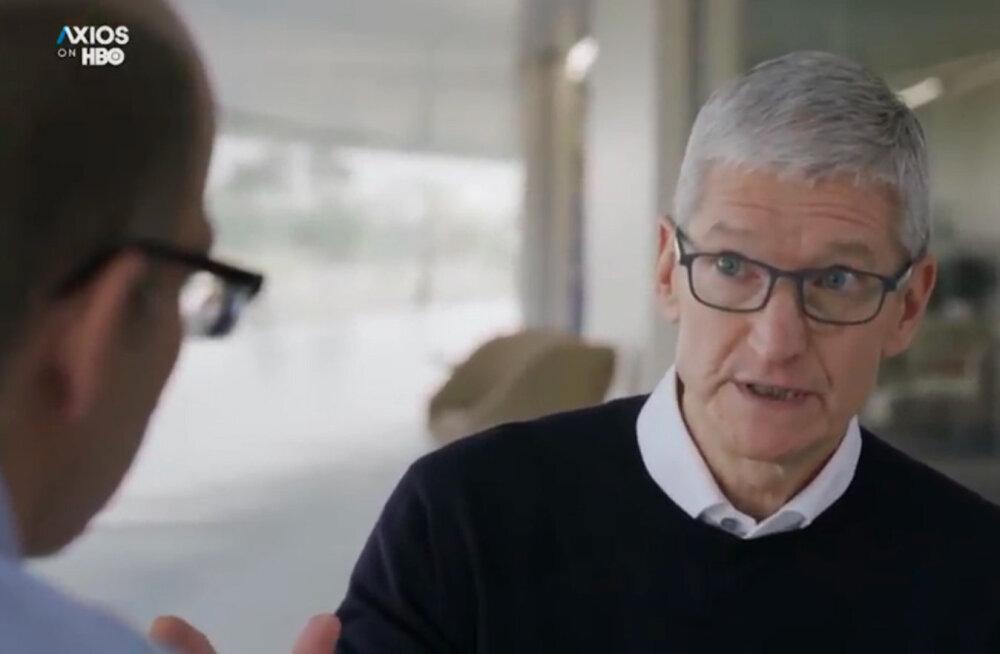 Miks Apple'i nutiseadmed Google'i otsimootorit kasutavad?