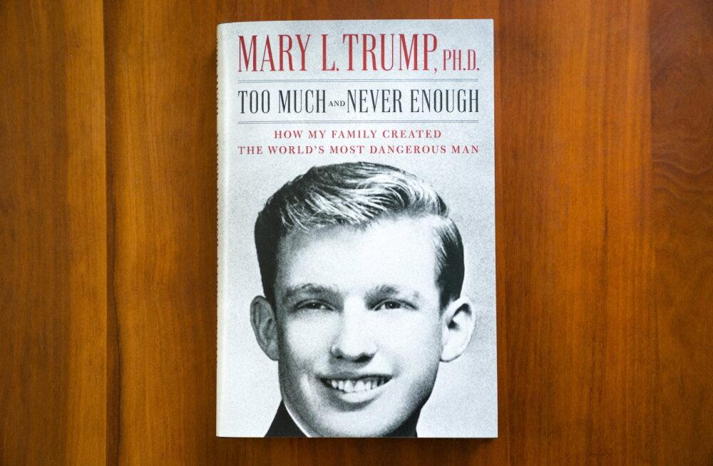 Vennatütar kujutab Trumpi oma raamatus emotsionaalselt kahjustatud eneseupitajana