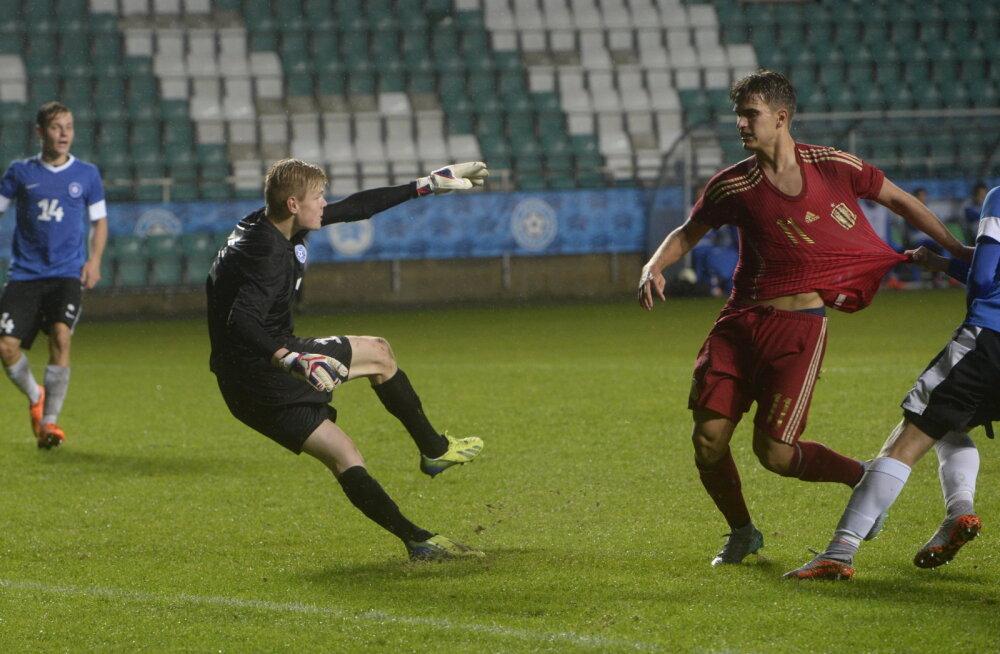 FOTOD: Kahju! Eesti U-21 koondis kaotas Hispaania superstaaridele päris viimasel hetkel