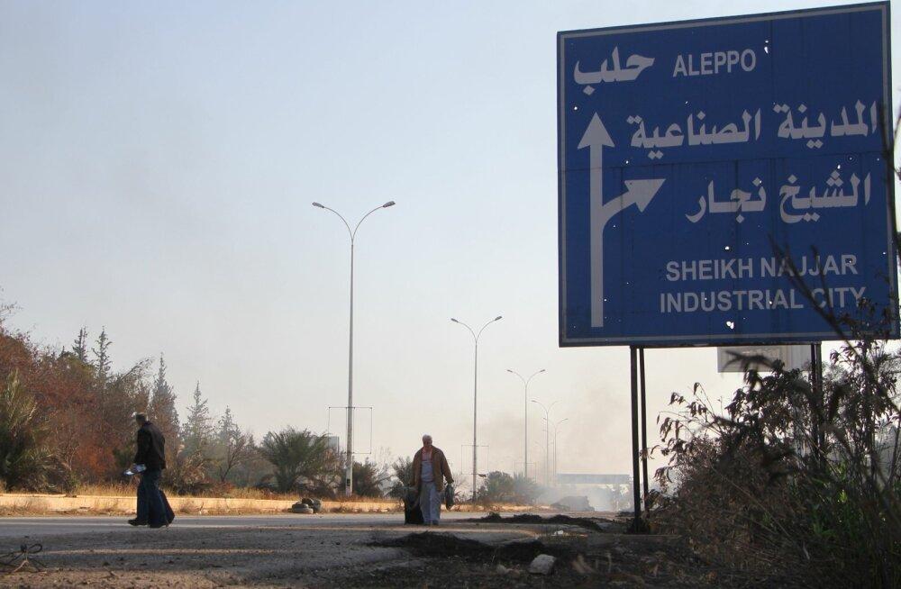 Putin käskis pidada Aleppo sõjategevuses uue humanitaarpausi