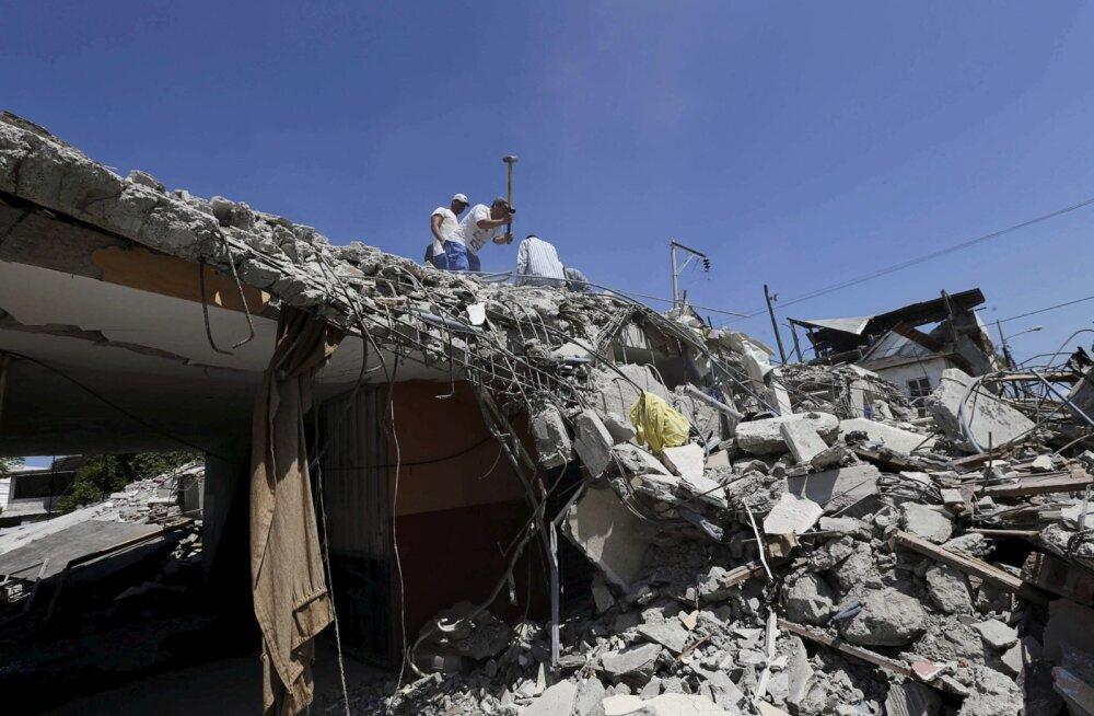Ecuadori rannikut tabas uus maavärin magnituudiga 6,2