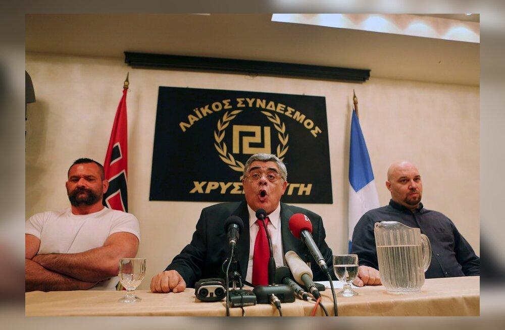 Tunnistajad: neonatslik Kuldne Koidik organiseeris rünnakrühmi Kreeka immigrantide vastu