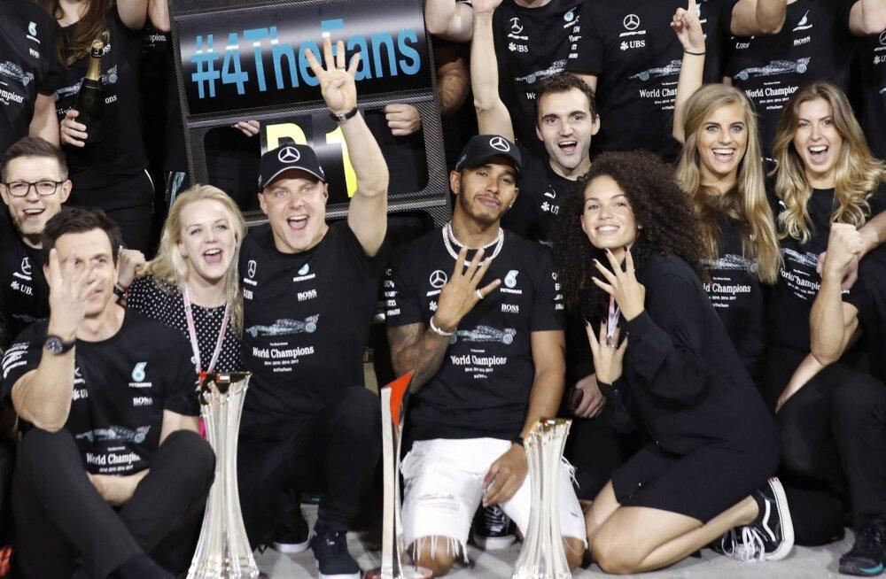 Lewis Hamilton jätkab vormel-1 karjääri kahetiste tunnetega