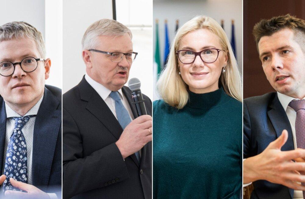 Keskerakonna juhatuse liige Tõnis Mölder ütles, et uut kandidaati otsides konsulteerib peaminister ka varasemate ministritega.