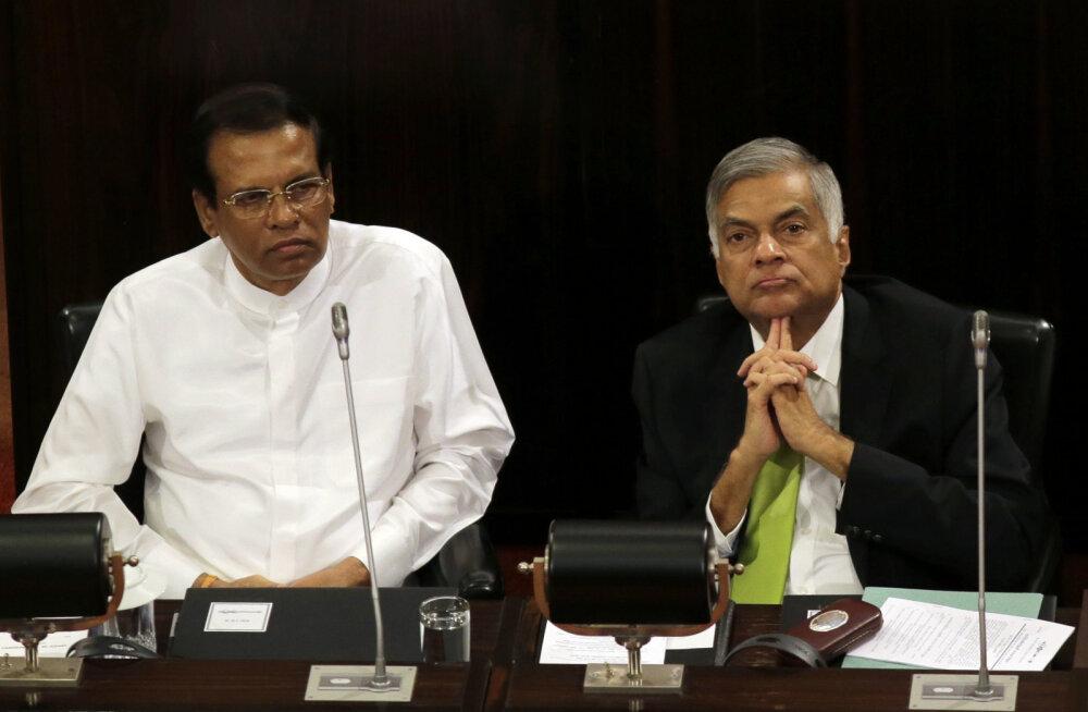 Sri Lanka terrorirünnakutele võis kaasa aidata presidendi ja peaministri vaheline tüli – hoiatused ei jõudnud pärale