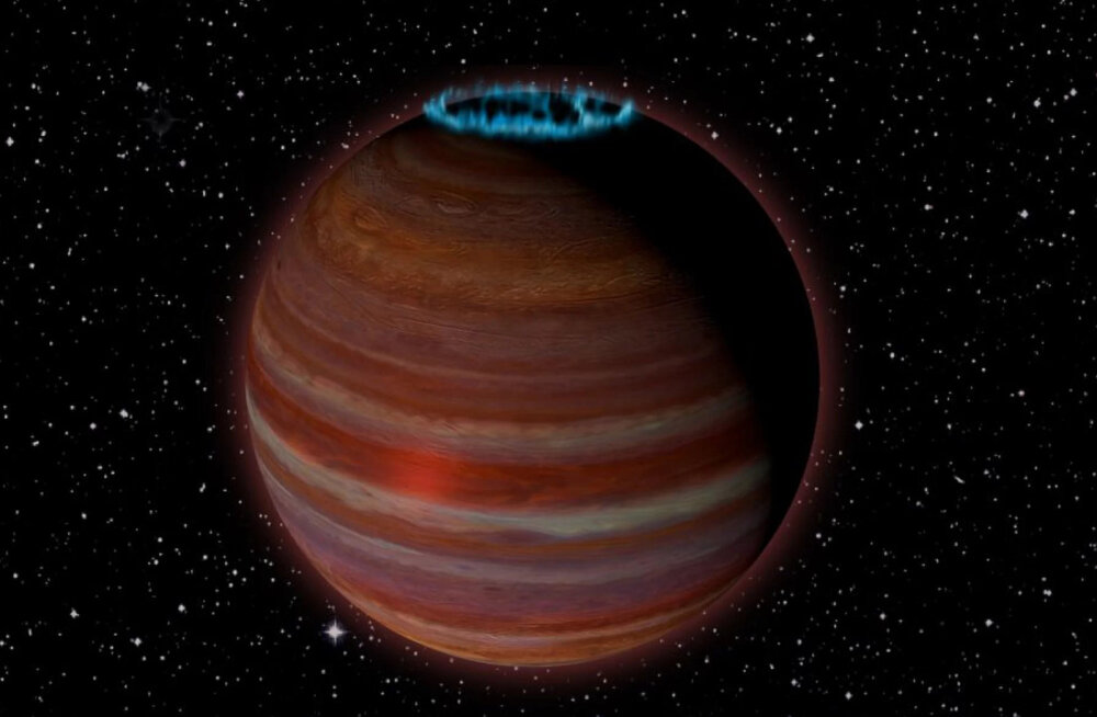 Teadlased leidsid raadioemissioonide abil Jupiterist 12 korda suurema hulkurplaneedi