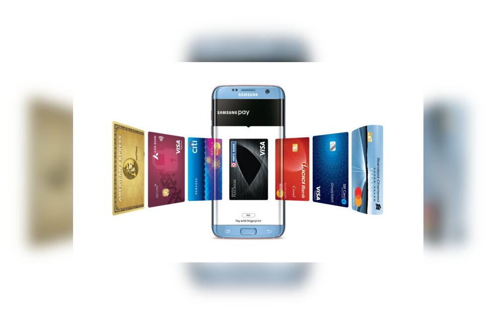Samsung teeb mobiilimaksele lisaks pangakaardi