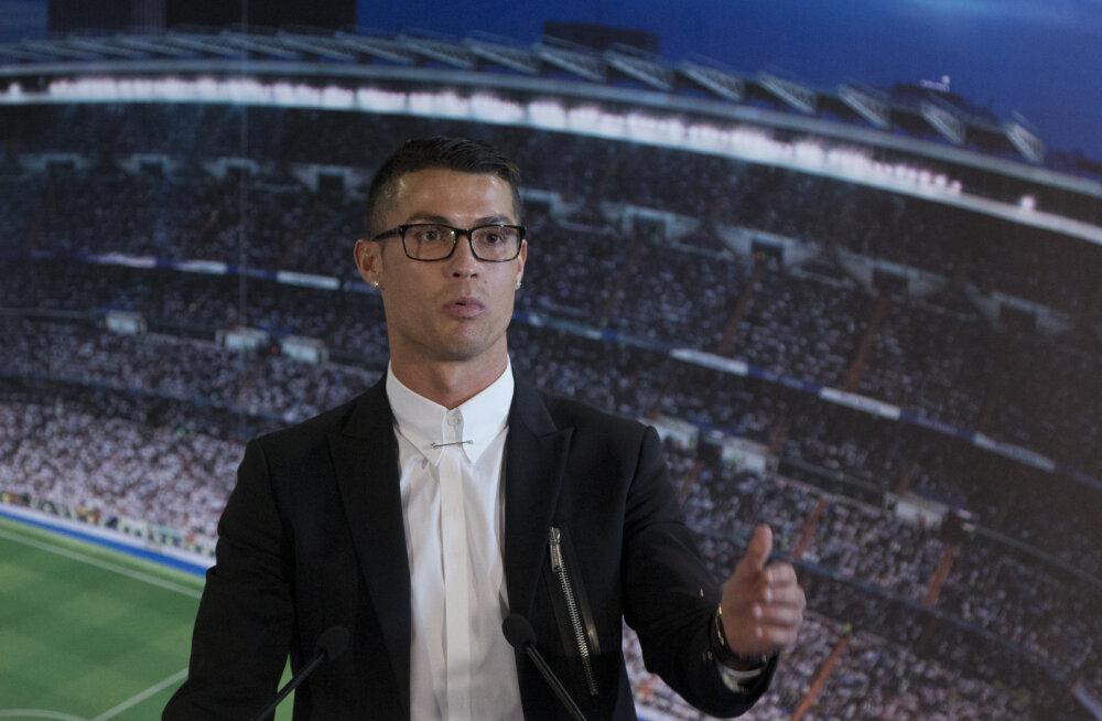 Cristiano Ronaldo sõlmis Nike'iga eluaegse lepingu