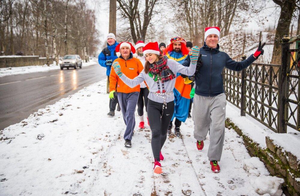 В Нарве снова состоится благотворительный рождественский забег