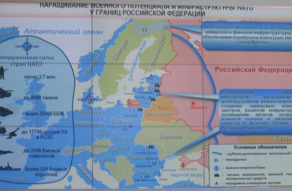 Vene kindrali kaardil on Soome ja Rootsi Lapimaa sõjapiirkond
