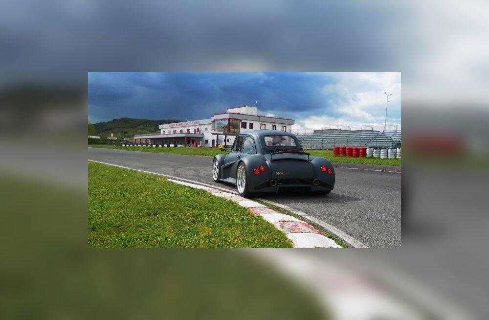 Mis juhtub, kui Lamborghini mootor Fiatile istumise alla panna