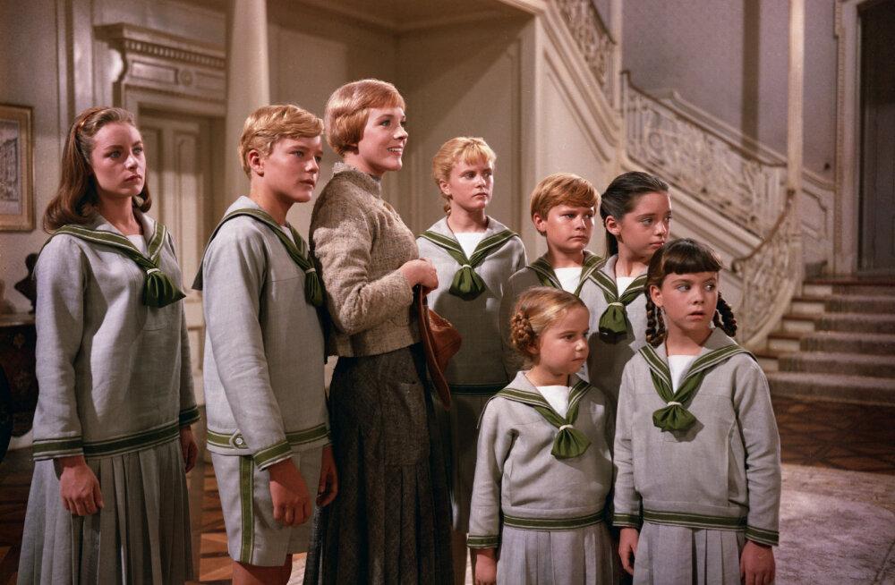 """""""Heliseva muusika"""" staarid enne ja nüüd: Vaata, mis on saanud Mariast, kapten von Trappist ja nende seitsmest lapsest!"""