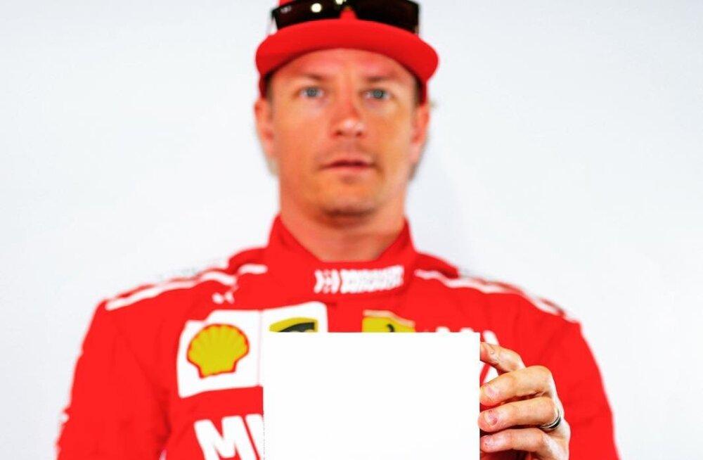 KAE POEETI! Kimi Räikkönen andis välja haikuraamatu