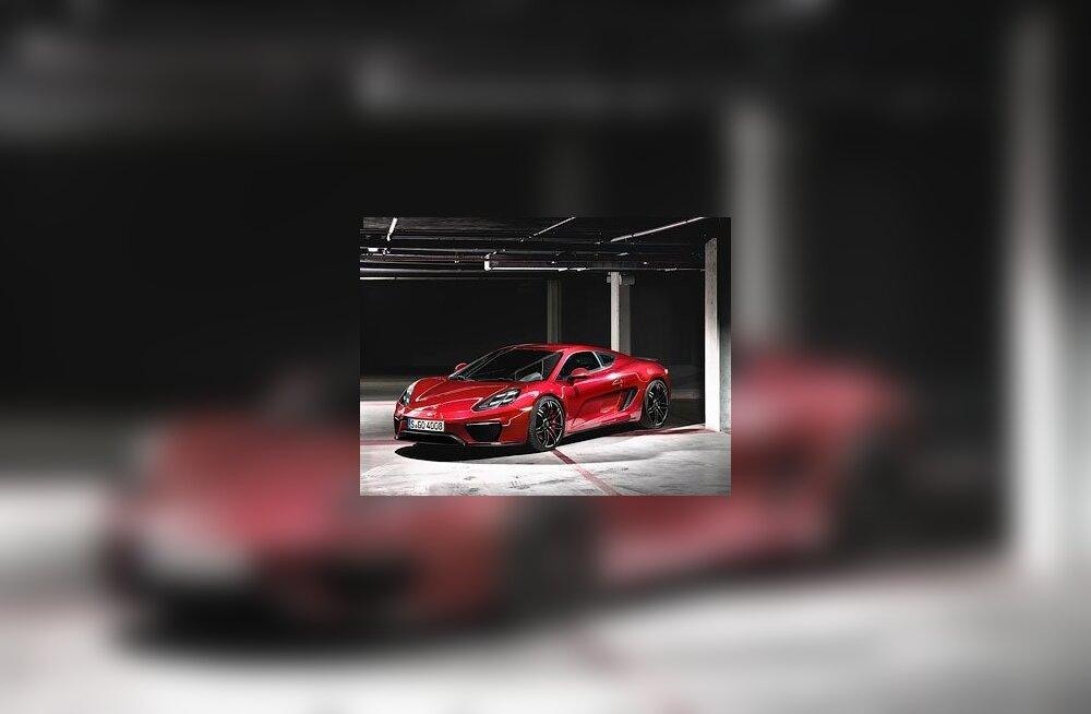 Новый суперкар Porsche получит мотор с четырьмя турбинами