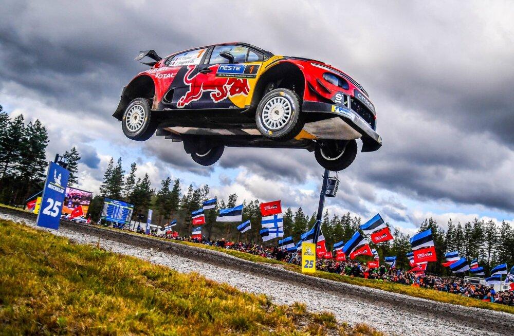 VIDEO | Kas Sebastien Ogier' hullumeelne õhulend Soomes valitakse aasta parimaks hüppeks?