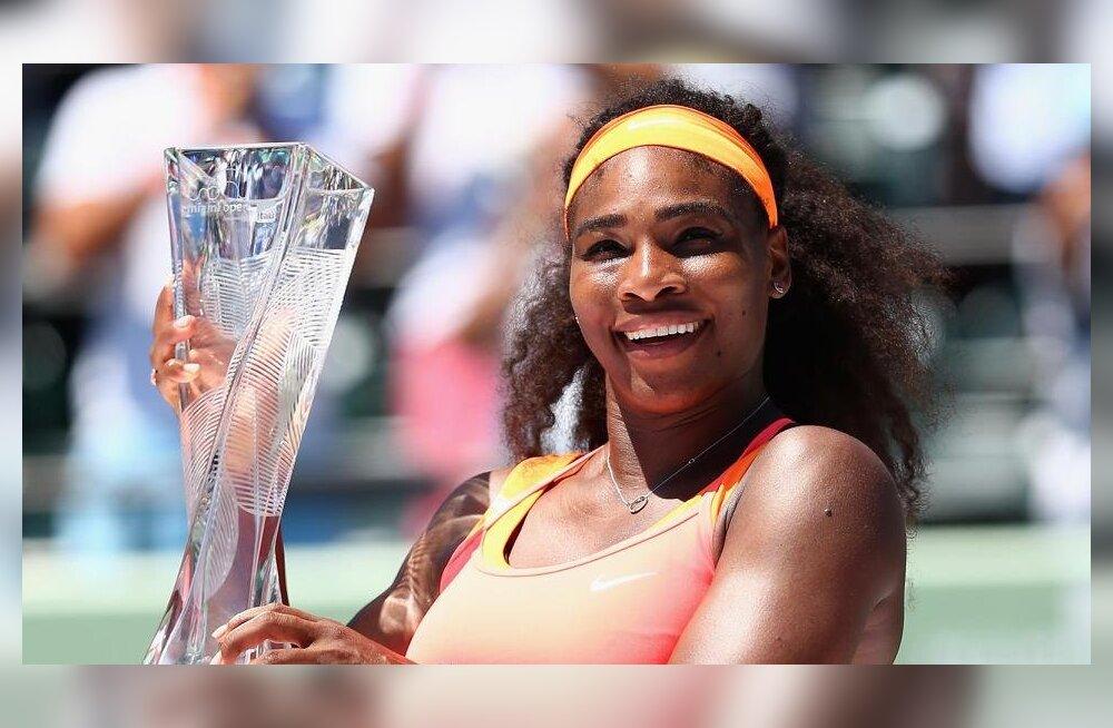 Serena Williams võitis Miami turniiri ja liitus legendidega
