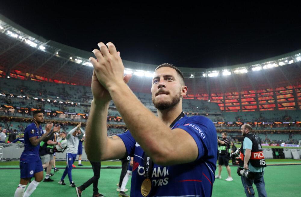 Eden Hazard: Madridi Real oli minu lapsepõlveunistus