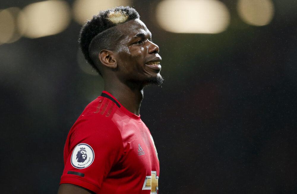 Paul Pogba agent lajatas: Manchester United on probleem, nad rikuks isegi Maradona karjääri