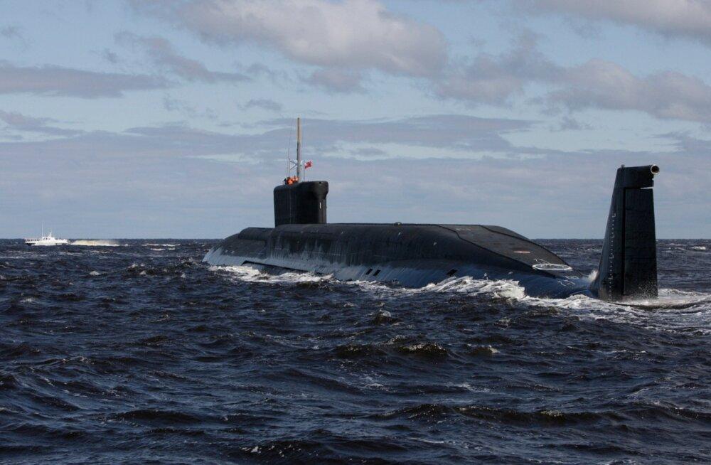 Šotimaa ranniku lähistel otsitakse ilmselt Vene allveelaeva