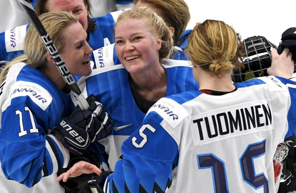 Ajalugu teinud Soome jäähokinaiskond jõudis MM-i finaali