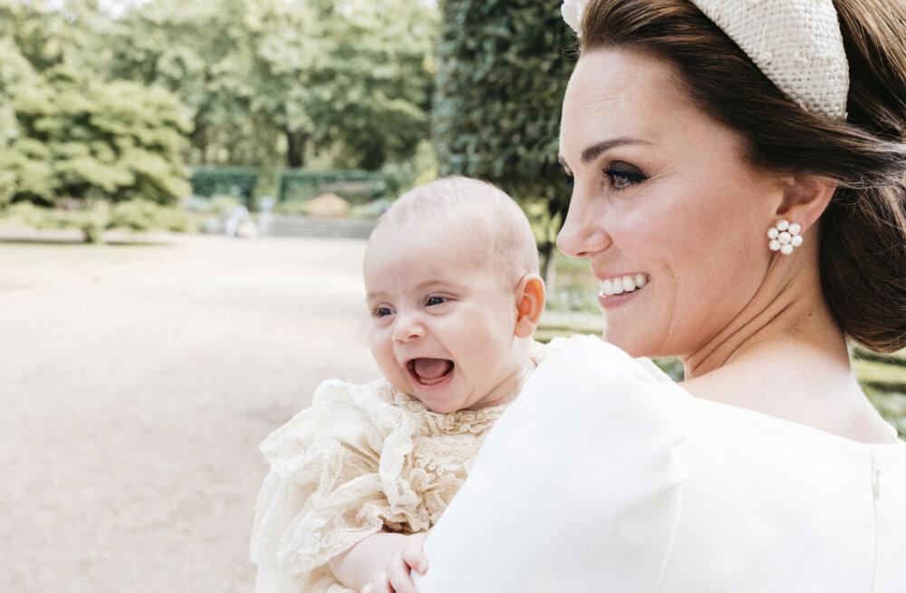 Kas tõesti? Kate Middletoni ja prints Williami noorim laps on käima õppinud?