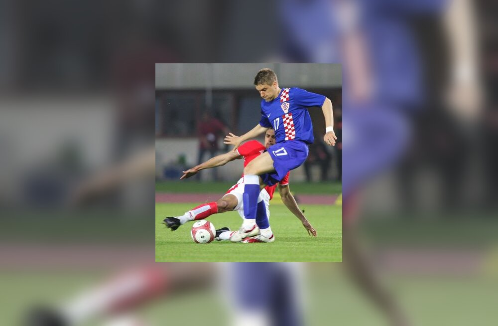 Horvaatia jalgpallikoondise ründaja Ivan Klasnic