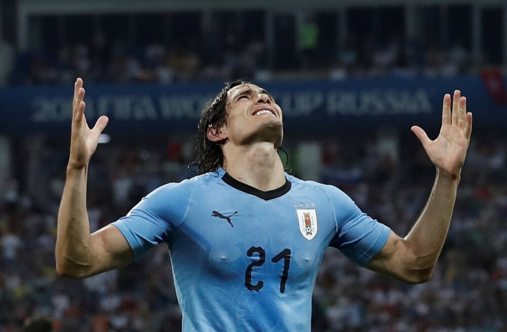 Uruguay ründetäht Edinson Cavani
