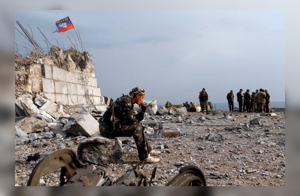 Ida-Ukraina tandril sai haavata seitse Ukraina sõdurit