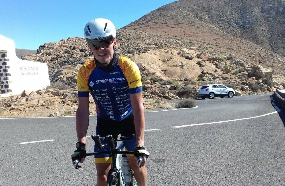Rait Ratasepp käis Fuerteventural rattarajaga tutvust tegemas.