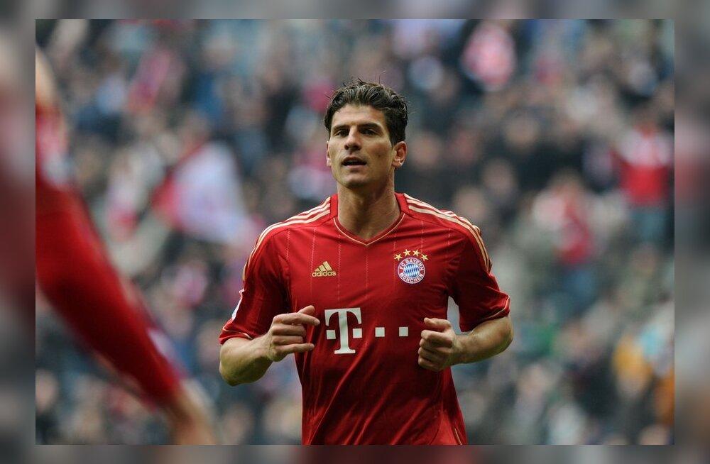 """Arsene Wenger: Bayerni """"võtmeks"""" on Mario Gomez"""