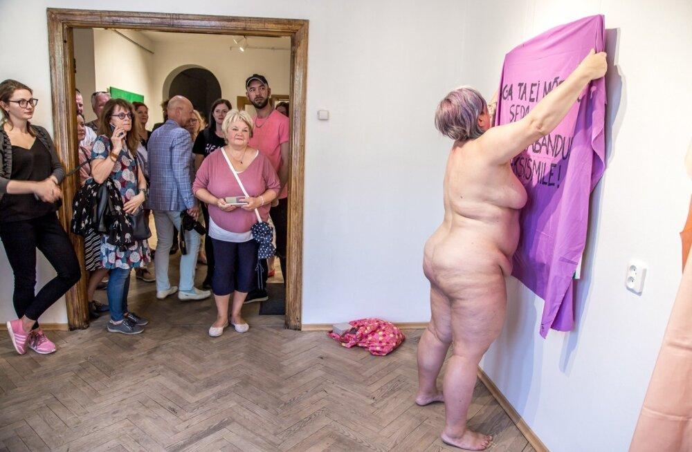 """Näituse """"Naine ja naine"""" avamine"""