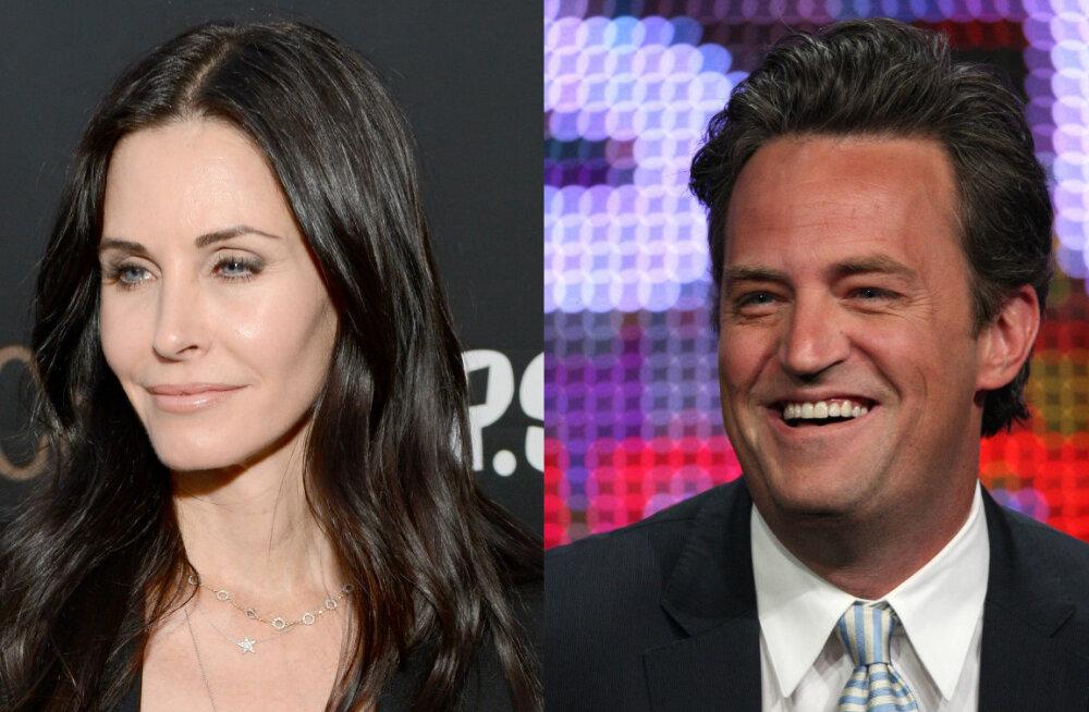 """Chandler ja Monica päriselt koos: Aastaid menusarjas """"Sõbrad"""" armastajaid mänginud staarid on viimaks paar!"""