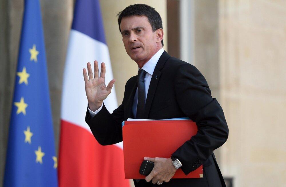 Prantsusmaa peaminister: oodata on uusi rünnakuid