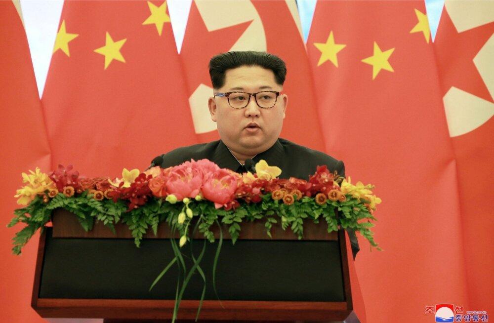 Hiina liidritele peetud kõnes ütles Kim, et desarmeerimine on võimalik, kui USA-l jätkub head tahet.