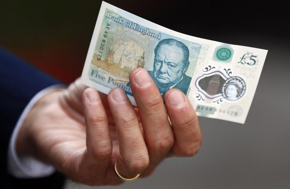 Taimetoitlastele ei sobi Briti rahatähed