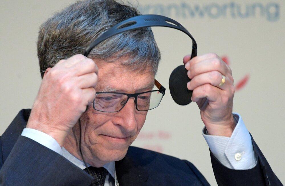 Bill Gates: kui robot võtab ära inimese töö, maksku tema eest ka maksud