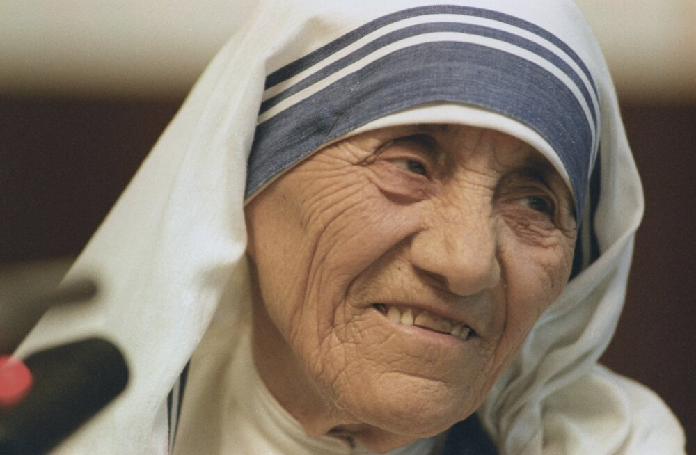 Ema Teresast saab täna roomakatoliku kiriku pühak